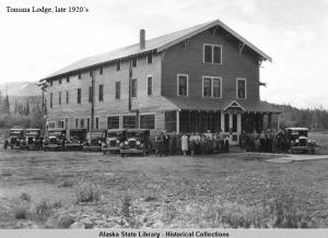 Tonsina Lodge, 1920's